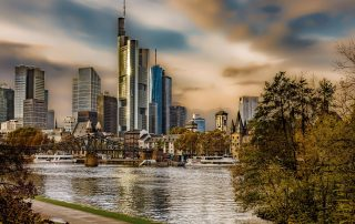 Skyline Frankfurt at the Main