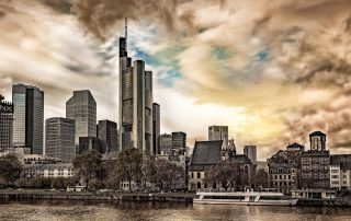 The Skyline of Frankfurt am Main photographer Christian Bill