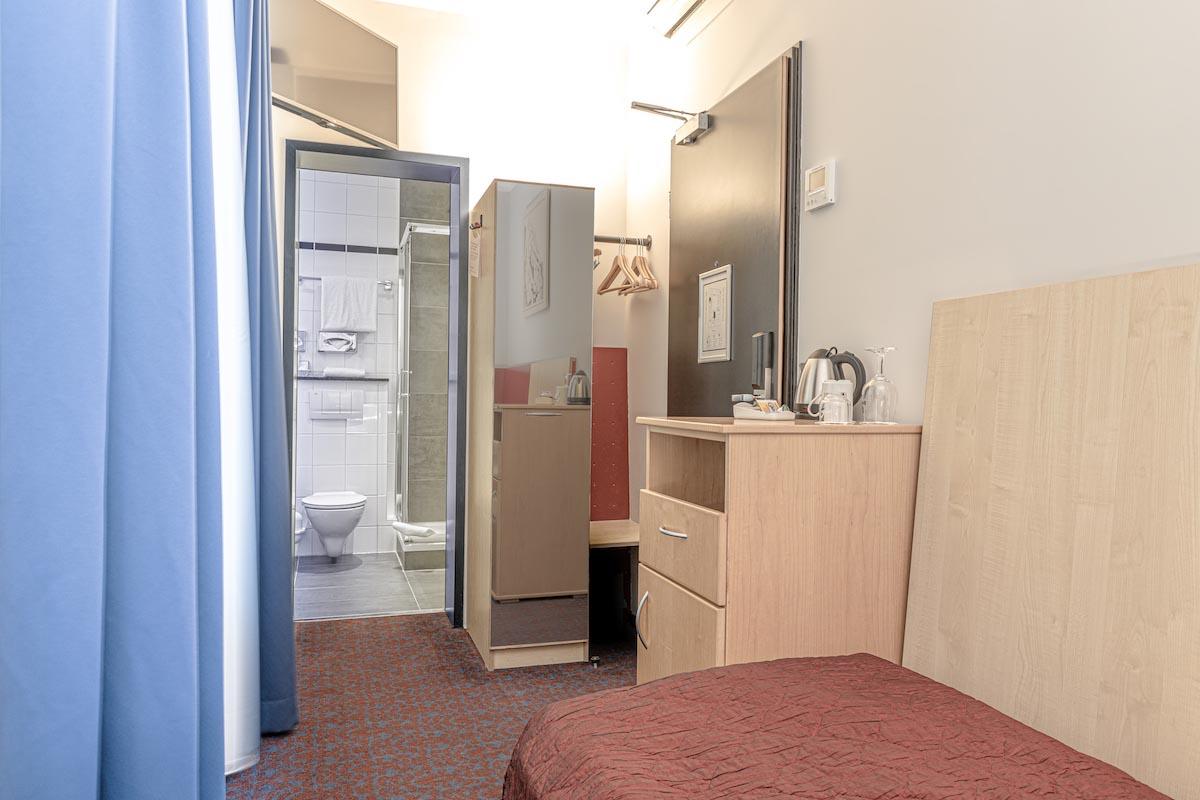 Einzelzimmer - ALL-INN HOTEL FRANKFURT ECO Einzel Zimmer