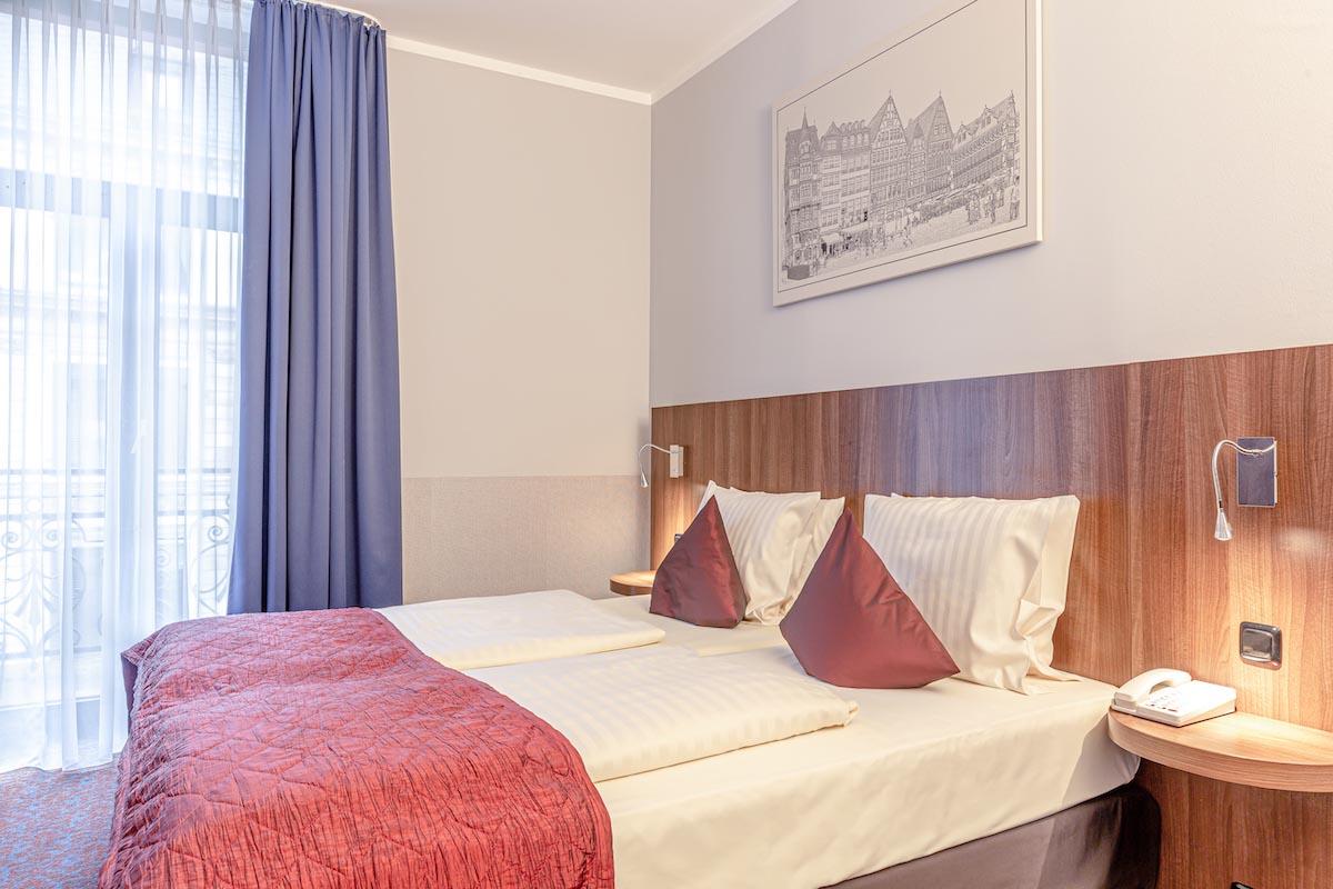 Doppel Zimmer Betten ALL-INN HOTEL FRANKFURT Doppel Zimmer