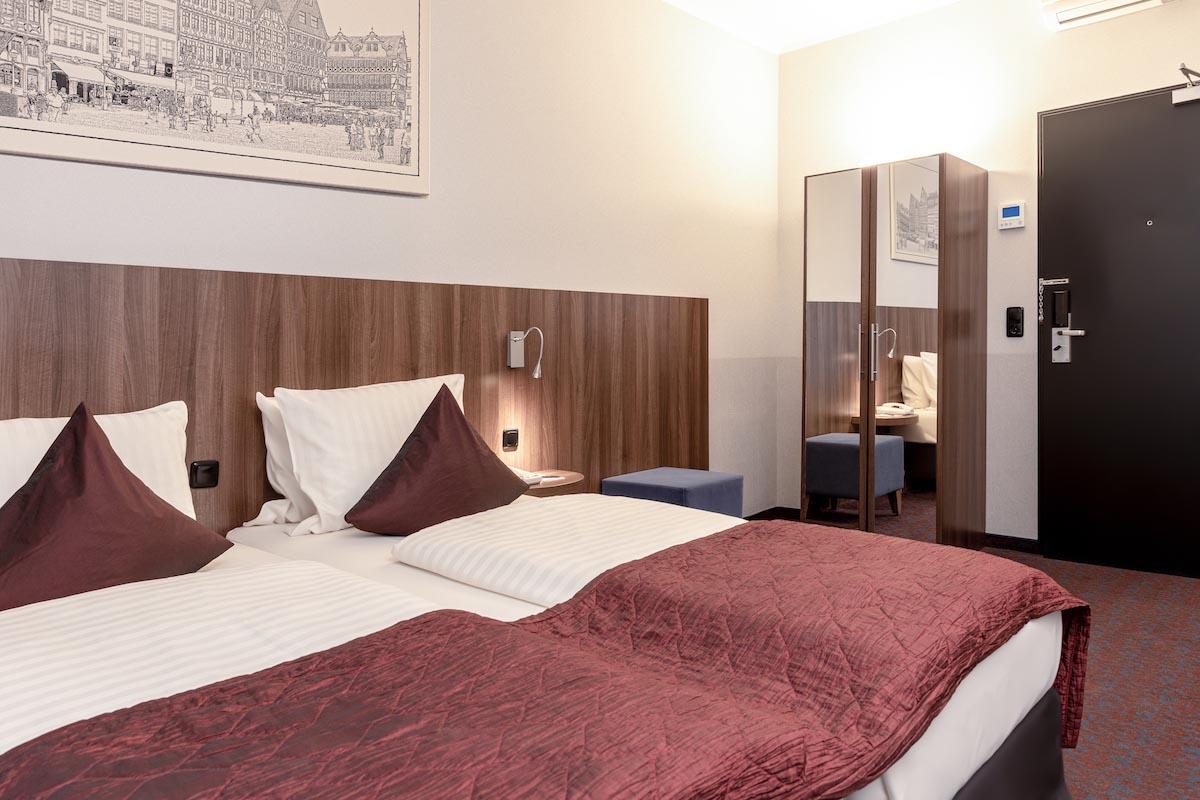 Zimmer ALL-INN HOTEL FRANKFURT Doppel Zimmer